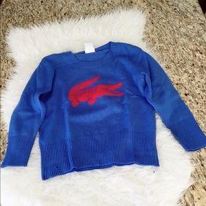 🌹LACOSTE Sweatshirt size 42🌹
